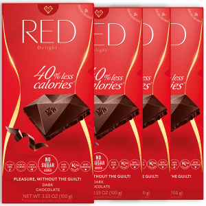 RED dark chocolate