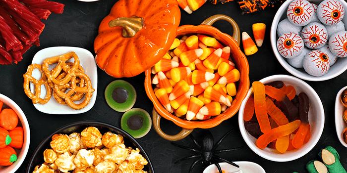 healthy halloween snack mix