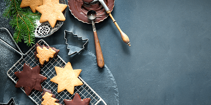 no bake holiday star